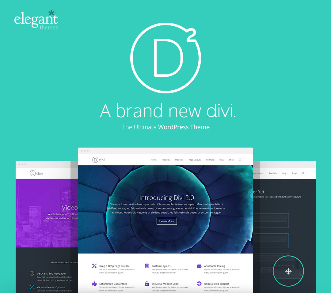 Divi 2.0 - Most Advanced WordPress Theme