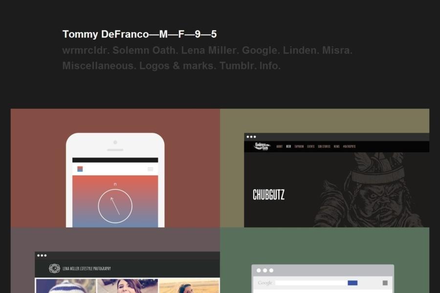 tdmf95 - Tommy DeFranco—M—F—9—5
